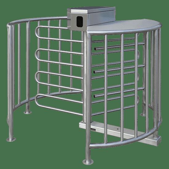 TTSHSFI3 half-height stainless steel access control turnstile